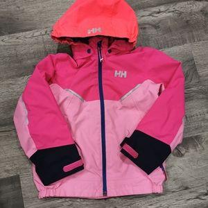 Girls rain jacket size 6/7